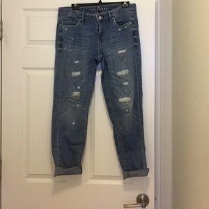 Women's girlfriend jeans